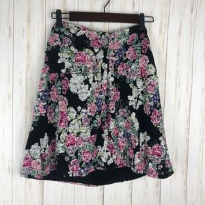 Torrid floral lace tube top size 1
